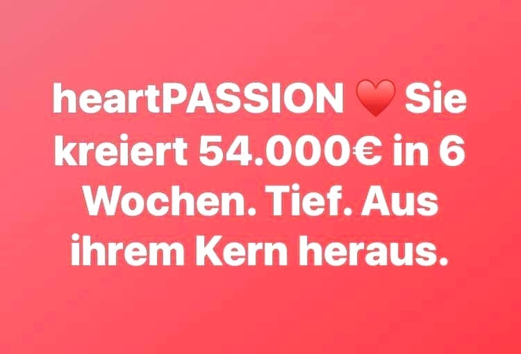Jahresmentoring heartPASSION Coaching